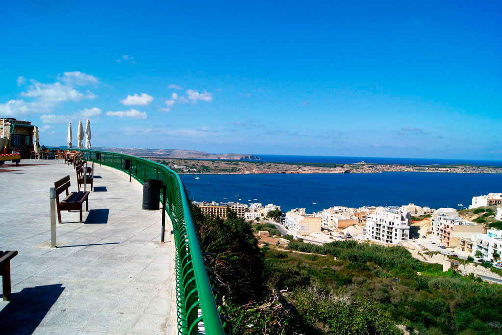 Views of Mellieha Bay